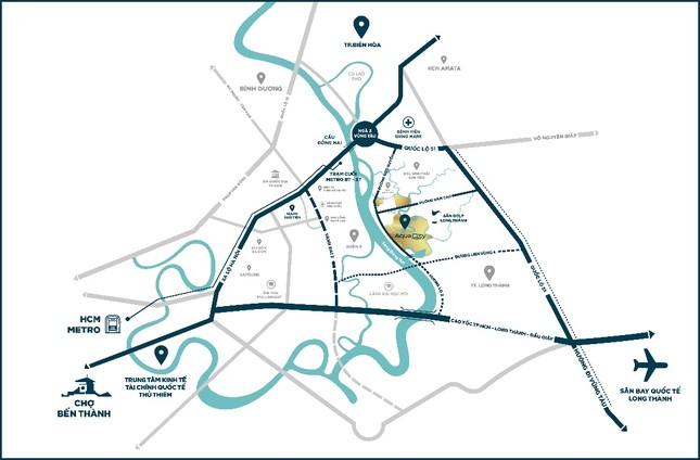 """River Park 1 """"nóng"""" cùng tuyến Hương Lộ 2 và sân bay Long Thành ảnh 3"""