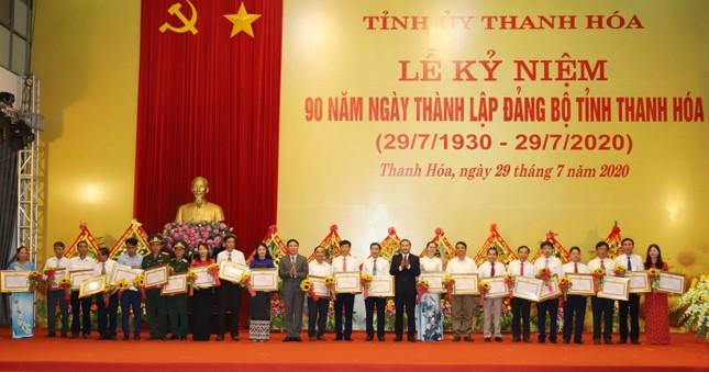 Kỷ niệm 90 ngày thành lập Đảng bộ tỉnh Thanh Hoá ảnh 5
