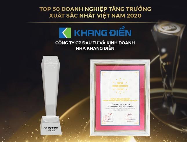 Trao giải Top 50 DN tăng trưởng xuất sắc, Top 10 chủ đầu tư bất động sản uy tín Việt Nam ảnh 1