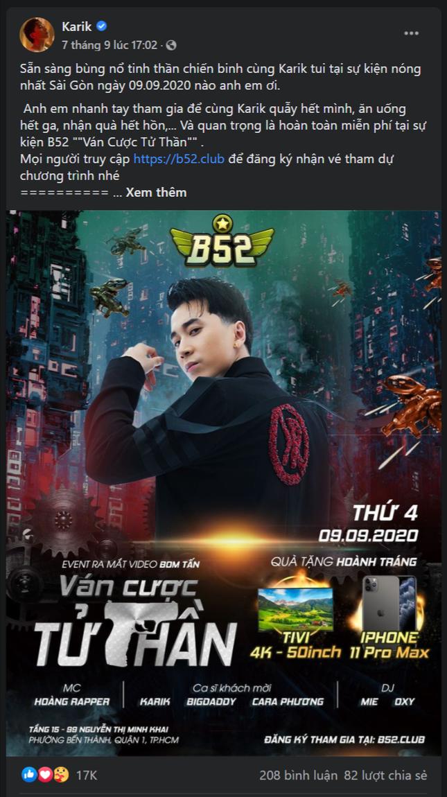 Noo Phước Thịnh ra mắt MV – phần 2 của bom tấn 'đại chiến B52' ảnh 2