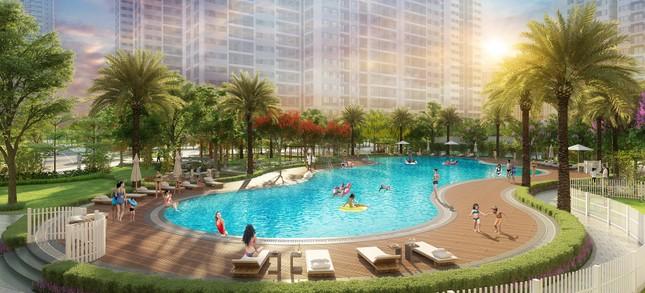 Sống như 'nghỉ dưỡng' với bể bơi phong cách resort tại Imperia Smart City ảnh 1