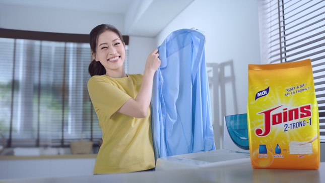 Masan giới thiệu bột giặt kết hợp giặt và xả 2 trong 1 ảnh 1