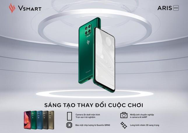 Vinsmart ra mắt Aris Pro – điện thoại Camera ẩn đầu tiên tại Việt Nam ảnh 2