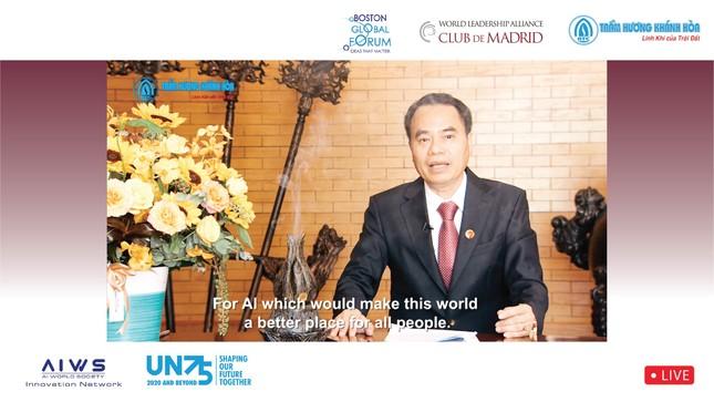 Gửi thông điệp 'Việt Nam-Quốc gia Trầm Hương' tới Diễn đàn Liên minh lãnh đạo Thế giới ảnh 1