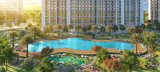 Sống như 'nghỉ dưỡng' với bể bơi phong cách resort tại Imperia Smart City ảnh 2