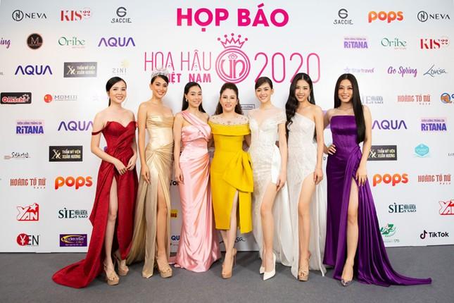Hoa hậu Doanh nhân Xuân Hương rạng rỡ tại buổi họp báo Hoa hậu Việt Nam 2020 ảnh 1