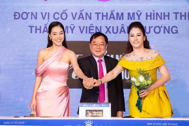 Hoa hậu Doanh nhân Xuân Hương rạng rỡ tại buổi họp báo Hoa hậu Việt Nam 2020 ảnh 3