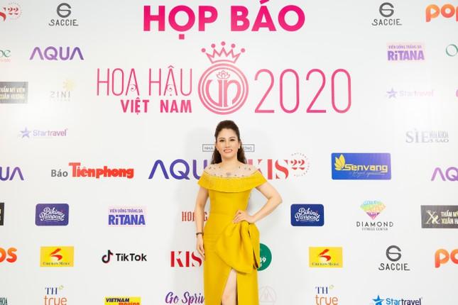 Hoa hậu Doanh nhân Xuân Hương rạng rỡ tại buổi họp báo Hoa hậu Việt Nam 2020 ảnh 5