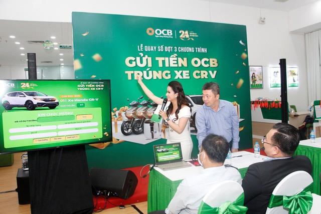 Kết quả quay số cuối kỳ chương trình khuyến mãi 'Gửi tiền OCB – Trúng xe CRV' ảnh 2
