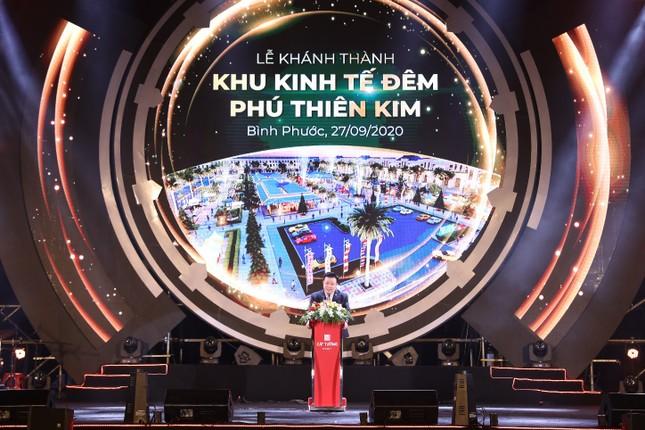 Chính thức khánh thành khu kinh tế đêm đầu tiên tại thành phố Đồng Xoài ảnh 2