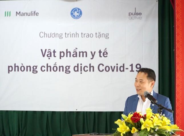 Manulife Việt Nam góp vật phẩm y tế cho chống dịch trị giá gần 3.5 tỷ ảnh 2