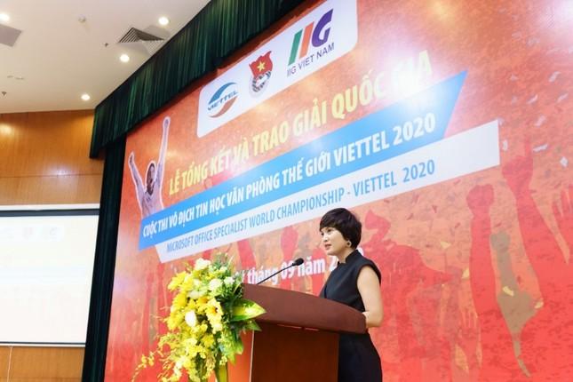MOSWC – Viettel 2020 – đáp ứng nhu cầu nhân lực thích ứng cao trong kỷ nguyên số ảnh 3