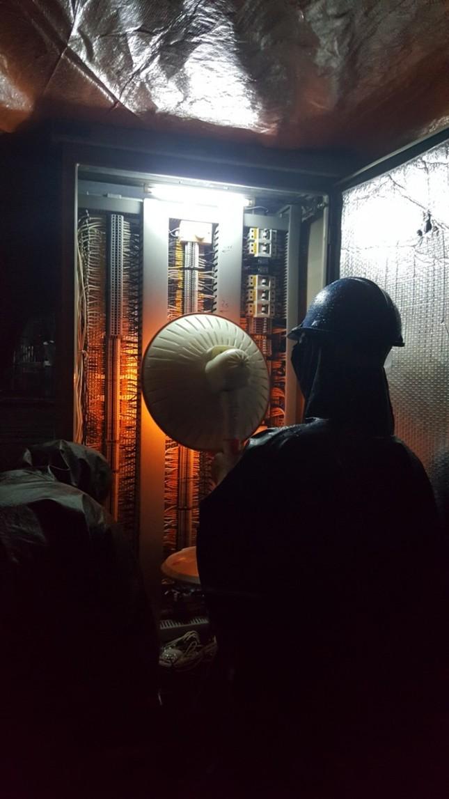 PTC2 đảm bảo vận hành an toàn lưới truyền tải điện trong mùa mưa lũ ảnh 3