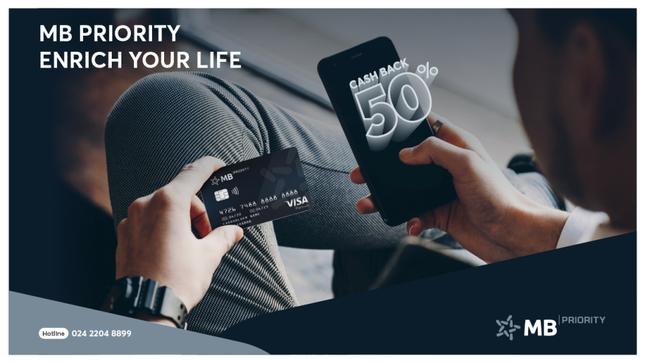 MB Priority: Làm giàu cuộc sống cho Bạn ảnh 1