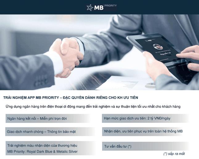 MB Priority: Làm giàu cuộc sống cho Bạn ảnh 2
