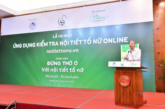 Lần đầu tiên ra mắt Ứng dụng kiểm tra nội tiết tố nữ tại Việt Nam ảnh 1