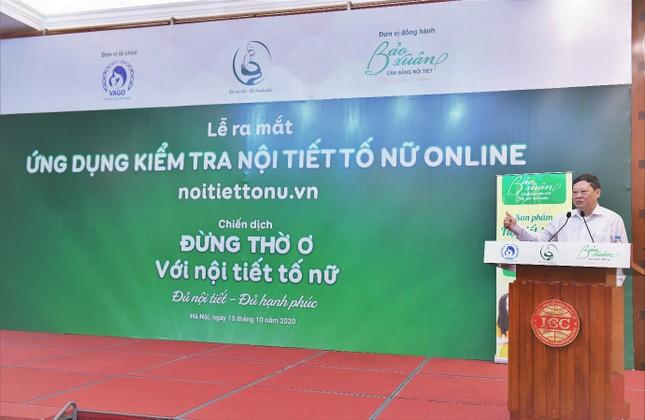 Lần đầu tiên ra mắt Ứng dụng kiểm tra nội tiết tố nữ tại Việt Nam ảnh 2