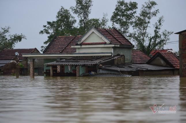 Lũ lớn lịch sử ở Quảng Bình, người dân leo nóc nhà chờ ứng cứu ảnh 1