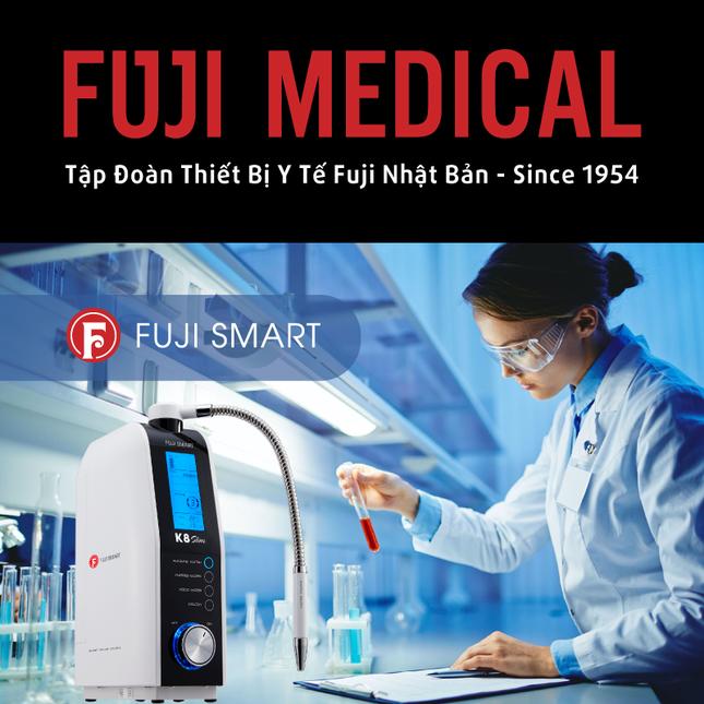 Fuji Smart K8 Slim thiết bị y tế tạo nước ion kiềm giàu Hydrogen phân khúc giá rẻ ảnh 2