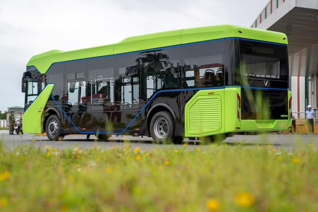 Vingroup chính thức chạy thử nghiệm xe buýt điện VinFast ảnh 4