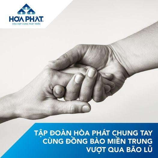 Tập đoàn Hòa Phát ủng hộ 4 tỷ đồng cho Quảng Bình, Quảng Trị ảnh 1