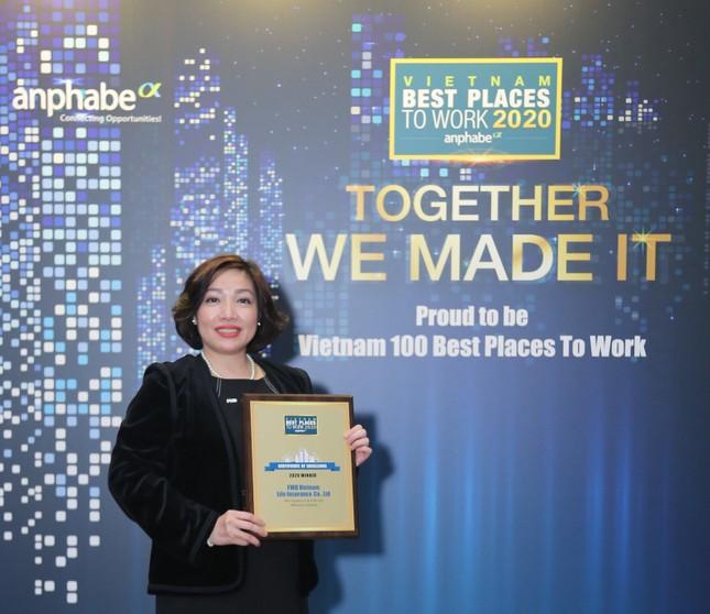 FWD được bình chọn Top 3 nơi làm việc tốt nhất ngành bảo hiểm ảnh 1