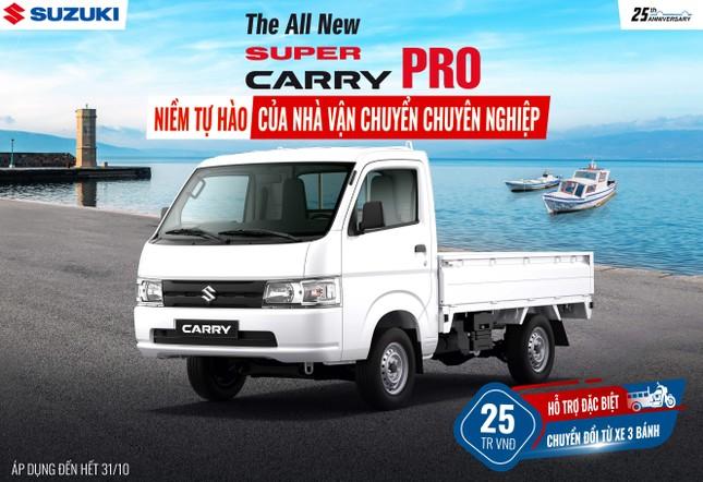 Suzuki tung khuyến mãi đặc biệt cho xe tải nhẹ ảnh 3
