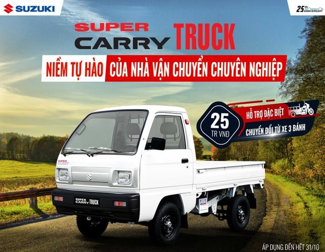 Suzuki tung khuyến mãi đặc biệt cho xe tải nhẹ ảnh 1