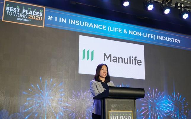 Manulife Việt Nam - nơi làm việc tốt nhất ngành bảo hiểm 3 năm liền ảnh 1