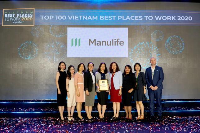 Manulife Việt Nam - nơi làm việc tốt nhất ngành bảo hiểm 3 năm liền ảnh 2