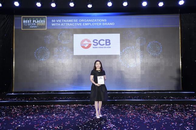 SCB là một trong 10 ngân hàng Việt có môi trường làm việc tốt nhất ảnh 2