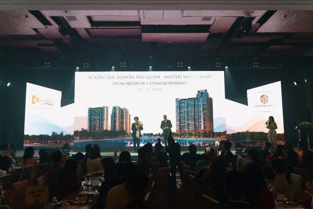 Masteri Waterfront và đối tác đồng hành Hà Anh Tuấn: Chia sẻ cùng một giá trị ảnh 1