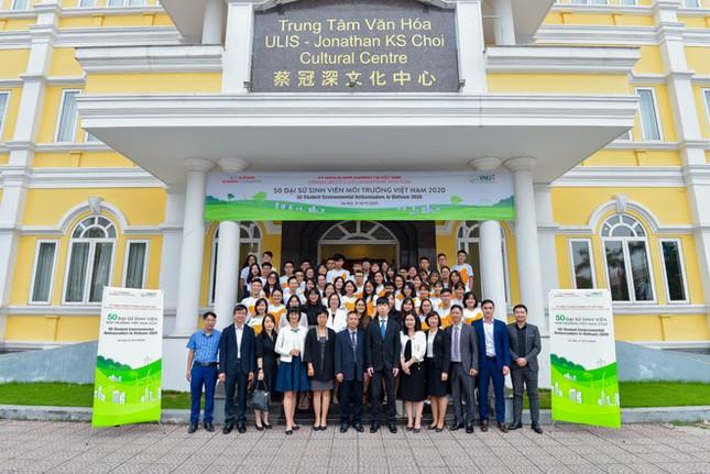 Dự án '50 Đại sứ Sinh viên Môi trường Việt Nam 2020' ảnh 5