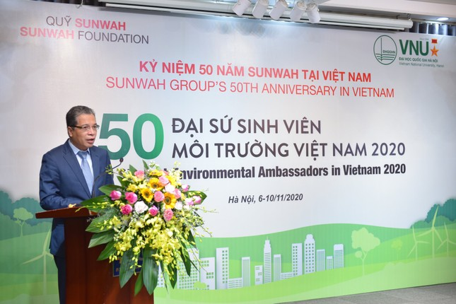 Dự án '50 Đại sứ Sinh viên Môi trường Việt Nam 2020' ảnh 2