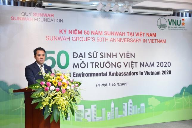 Dự án '50 Đại sứ Sinh viên Môi trường Việt Nam 2020' ảnh 3