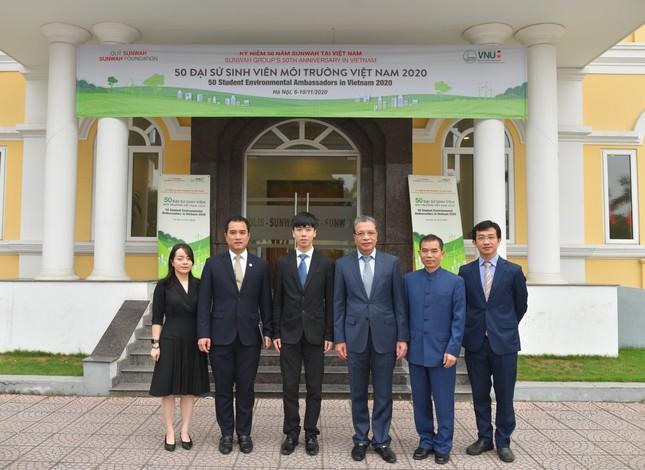 Dự án '50 Đại sứ Sinh viên Môi trường Việt Nam 2020' ảnh 4