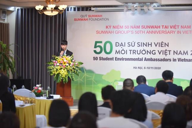 Dự án '50 Đại sứ Sinh viên Môi trường Việt Nam 2020' ảnh 1
