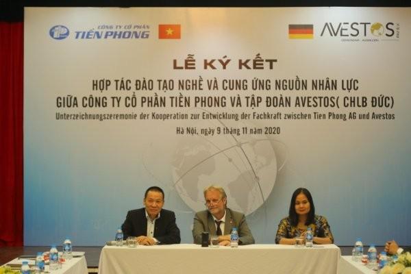 Công ty cổ phần Tiền Phong hợp tác với Tập đoàn uy tín CHLB Đức ảnh 1