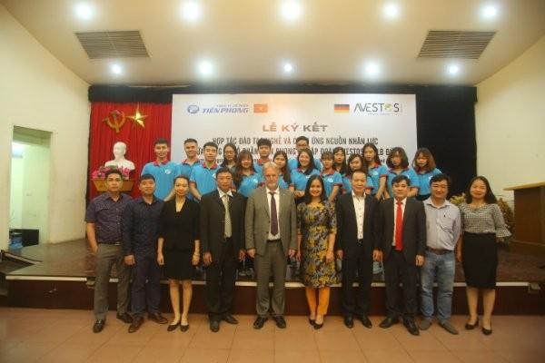 Công ty cổ phần Tiền Phong hợp tác với Tập đoàn uy tín CHLB Đức ảnh 3