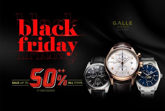 Black Friday 2020 - Săn đồng hồ hiệu ưu đãi tới 50% tại Galle Watch ảnh 1