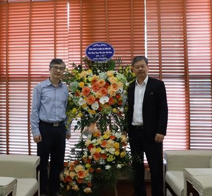 Tổng Giám đốc EVN và lãnh đạo EVNNPC thăm, chúc mừng các đơn vị đào tạo ảnh 3
