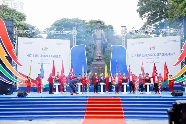 Lễ khởi động SEA Games 31 - đánh dấu một năm trước Đại hội thể thao Đông Nam Á ảnh 3