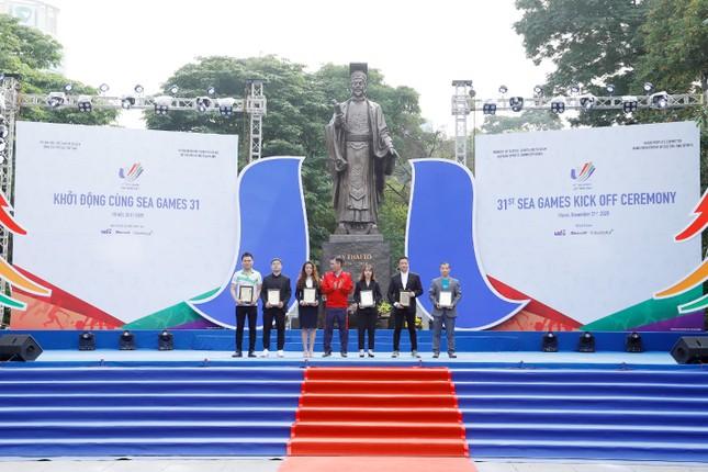 Lễ khởi động SEA Games 31 - đánh dấu một năm trước Đại hội thể thao Đông Nam Á ảnh 4