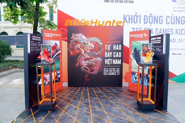 Lễ khởi động SEA Games 31 - đánh dấu một năm trước Đại hội thể thao Đông Nam Á ảnh 5