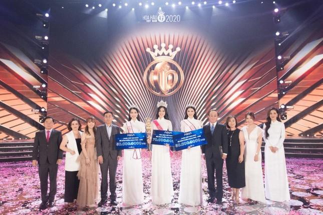 AQUA Việt Nam và sự thành công rực rỡ của đêm chung kết toàn quốc Hoa hậu Việt Nam 2020 ảnh 4