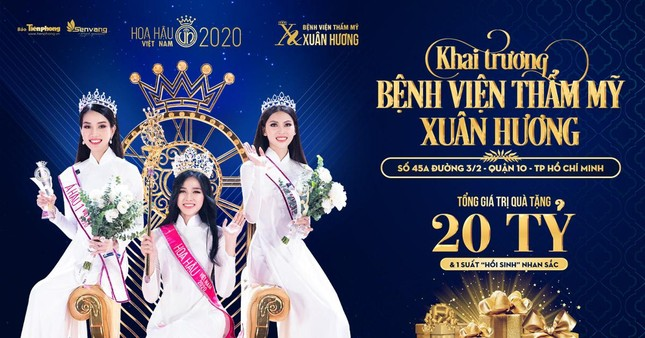 Top 3 HHVN 2020 tham dự khai trương Bệnh viện Thẩm mỹ Xuân Hương TP.HCM ảnh 1