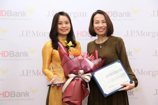 HDBank nhận Giải thưởng Chất lượng Thanh toán quốc tế xuất sắc 3 năm liên tiếp ảnh 1