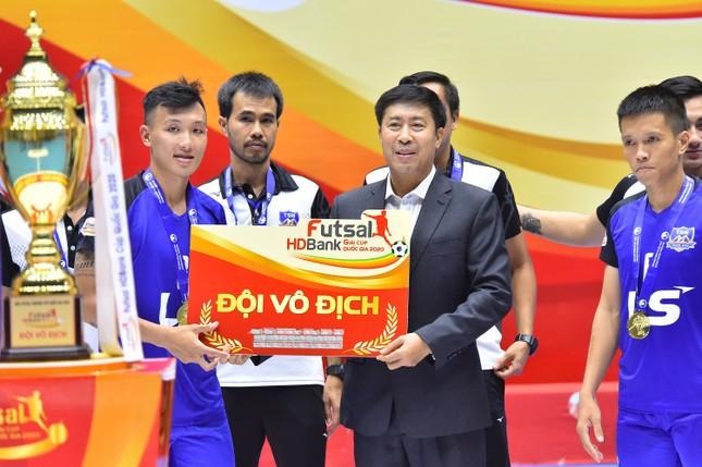 Câu lạc bộ Thái Sơn Nam lên ngôi vô địch Giải Futsal HDBank Cúp Quốc gia 2020 ảnh 1