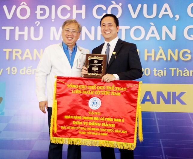 Nam A Bank tiếp tục đồng hành cùng giải vô địch cờ đấu thủ mạnh toàn quốc cúp Nam A Bank n ảnh 1