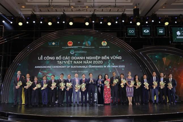 VietinBank được vinh danh Top 10 Doanh nghiệp bền vững Việt Nam năm 2020 ảnh 1